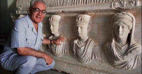 """""""Grand-Père Palmyre"""" a refusé jusqu'au bout de révéler les trésors sacrés de la cité antique."""