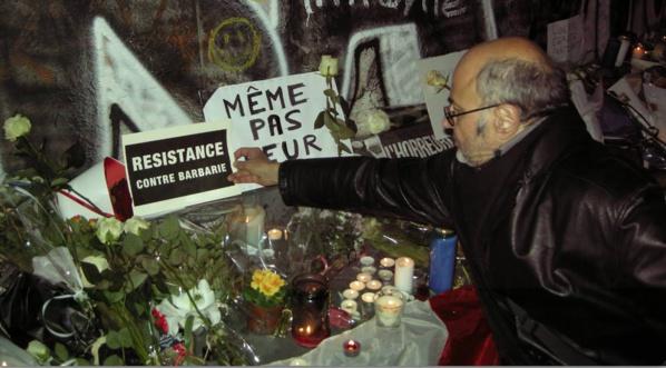 Résistance contre barbarie, sans peur, sans haine mais avec une détermination absolue.