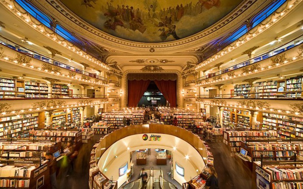 """Argentine. La librairie Ateneo Grand Splendid, à Buenos Aires, nommée """"plus belle librairie du monde"""