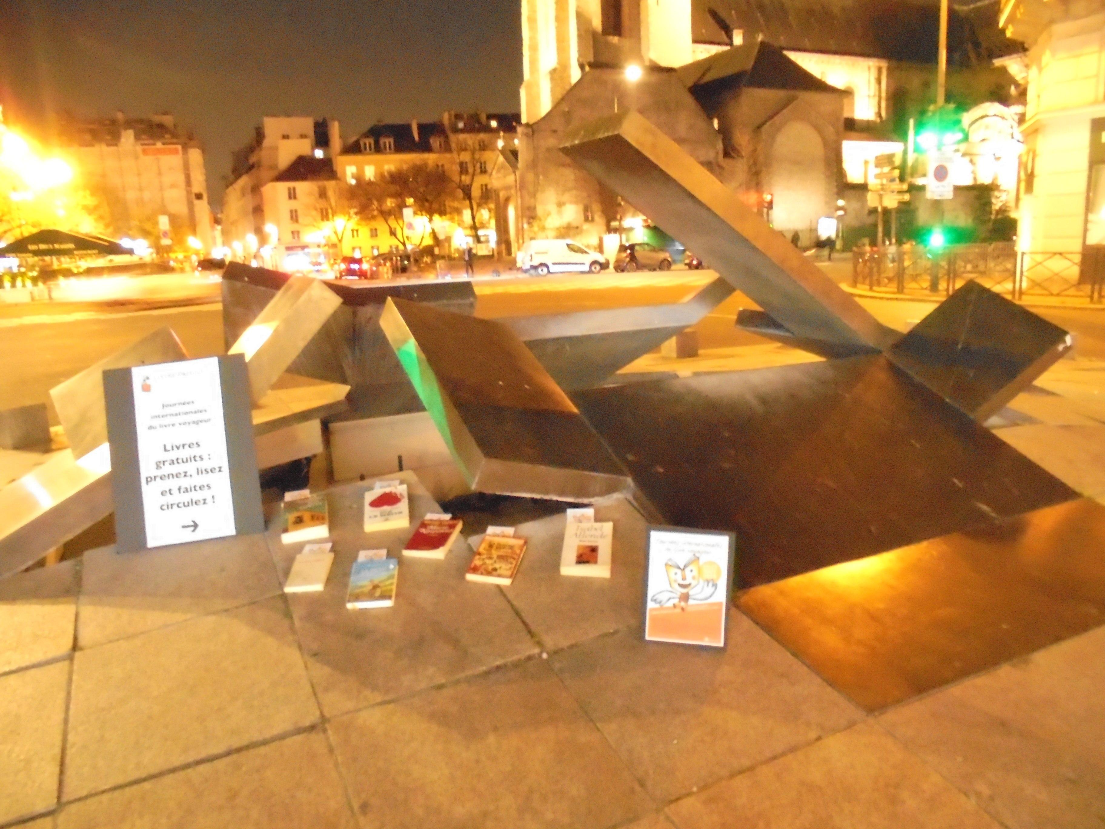 21/22 mars: pour les Journées Internationales du Livre Voyageur, Pierre Martial appelle à mettre des livres partout!
