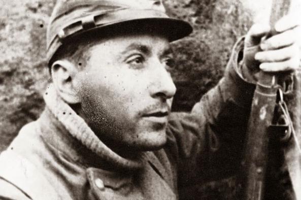 Roland Dorgelès dans les tranchées © D.R