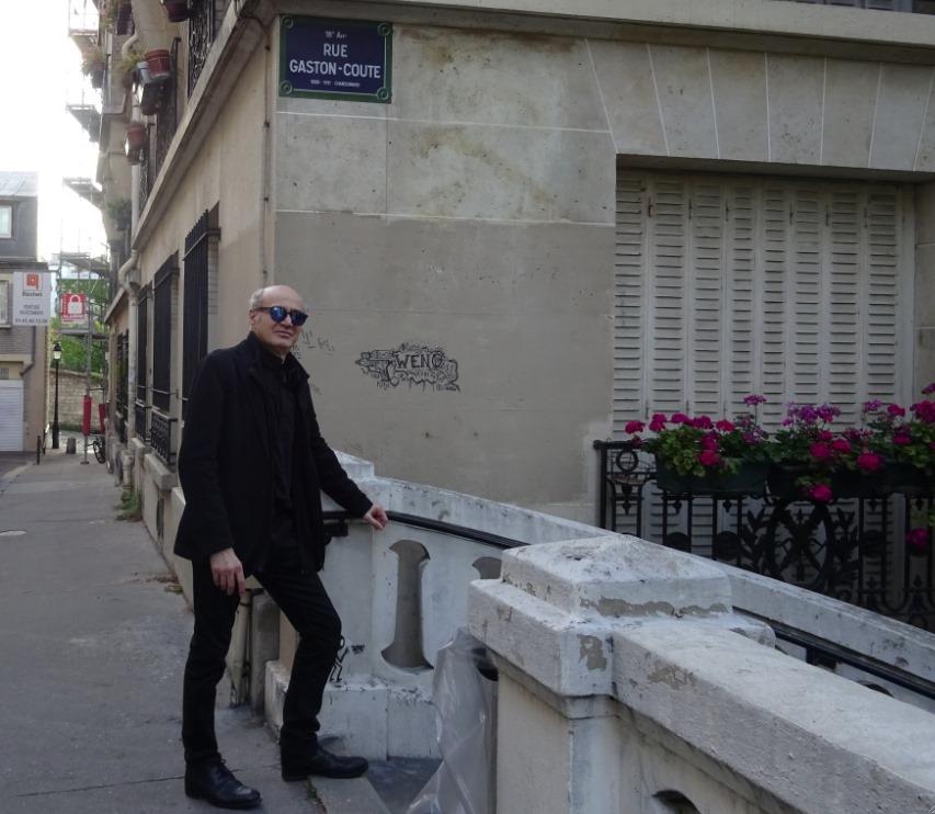 Pierre Martial, rue Gaston Couté à Montmartre, là où tout a commencé...