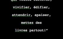 """A soutenir/réserver dès maintenant. """"Les Don Quichotte du livre"""" de Pierre Martial, à paraitre le 11 décembre."""