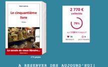 """J-9. Le compte à rebours pour l'édition solidaire du """"Cinquantième Livre"""" est lancé! Plus que 9 jours pour agir!"""