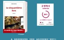 """J-3. Le compte à rebours pour l'édition solidaire du """"Cinquantième Livre"""" est lancé! Plus que 3 jours pour agir!"""