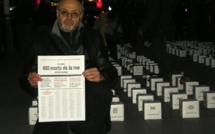 Pierre Martial rend un émouvant dernier hommage aux 480 SDF morts dans la rue, en France.